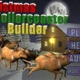 Christmas Rollercoaster Builder